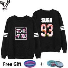 ea3096388 BTS Sweatshirt Women Korean Idol Team Fans Casual Capless Women Hoodies  Pullover Sweatshirt Winter Fashion Bangtan
