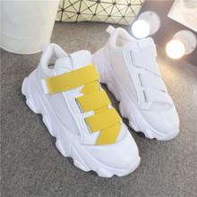 COOTELILI Spring Women Sneakers Breathable Women Flat Platform Shoes Woman Casual Creepers Women Shoes