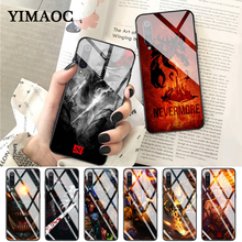 YIMAOC Shadow Fiend Dota 2 Glass Case for Xiaomi Redmi 4X 6A note 5 6 7 Pro Mi 8 9 Lite A1 A2 F1 лонгслив printio dota 2 shadow fiend