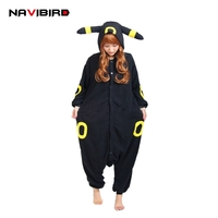 Winter Unisex Adult Long Sleeve Hooded Animal Onesies Anime Black Elves Pikachu Unicron Pajamas Flannel Unicornio