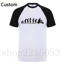 2019 T shirts Men KTM Motorcycle Rider Evolution Scooter Vespa Black Short Sleeve ajax white TShirt Printed Male fashion T-shirt(China)