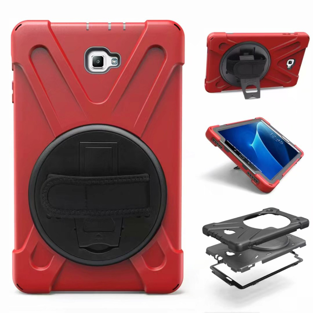 Case For Samsung Galaxy Tab A A6 10.1 2016 T585 T580 SM-T585 T580N Kids Safe Shockproof Armor Soft Silicone+Hard Cover