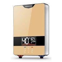 6000 Вт электрический водонагреватель преобразования частоты постоянная температура дома душ быстро перегрет небольшая кухня сокровище