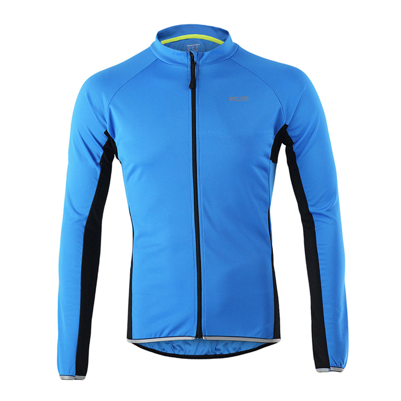 Outdoor Sports Clothing Bicycle Cycling Jersey Long Sleeve Running Bike Jacket Size M To XXXL