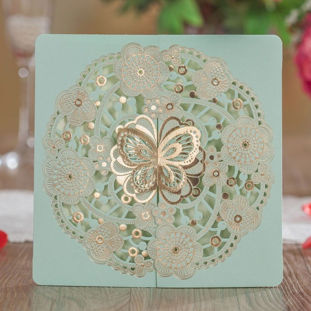 aliexpress com buy laser cut wedding invitations card convite