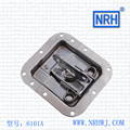 NRH 6104 cold rolled steel DJ cabinet butterfly latch Seismic Audio chrome coated recessed butterfly latch for road case latch