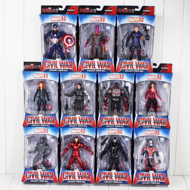 Captain America 3 Civil War Iron Man Vision Ant Black Panther Winter Soldier