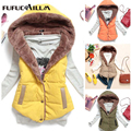 2016 Hot Selling Autumn Women Cotton Jacket Sleeveless Women Coat Hoody Winter Cotton Thicken Women Jacket MJ1