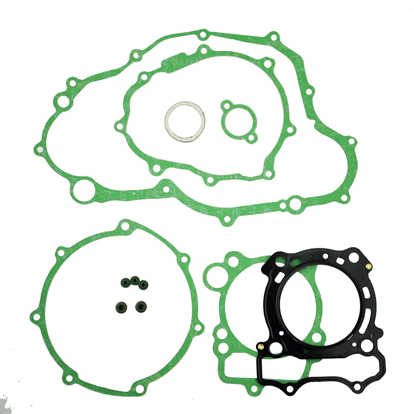 LOPOR For <font><b>Yamaha</b></font> WR250F 2003-2009 Engine Gasket Kit Cylinder Top End Crankcase Stator Clutch Cover Exhaust Gaskets Seals Set new image