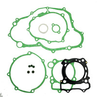 LOPOR For Yamaha WR250F 2003 2009 Engine Gasket Kit Cylinder Top End Crankcase Stator Clutch Cover Exhaust Gaskets Seals Set new
