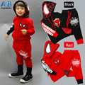 Clothing set Wholesale children's clothing factory outlets spider man costume spiderman suit spider-man costume Children's Sets