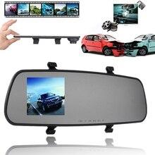 2.4 дюймов 720 P HD TFT Видеорегистраторы для автомобилей Авто-камеры объектив видео Регистраторы регистраторы g-сенсор Ночное видение парковка видео Регистраторы