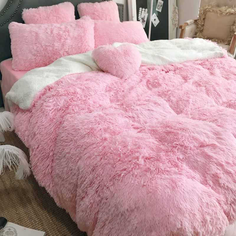 Bed Sofa Blanket Gift Super Soft Long Shaggy Fuzzy Fur Faux Fur Warm Elegant Cozy With Fluffy Sherpa Throw Blanket