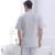 2016 Hombres Del Verano Pijama Pijama Pijama De Fibra De Bambú de Manga Corta A Cuadros Vuelta-Abajo Al Desgaste Salón Informal ropa de Dormir Más tamaño 4XL