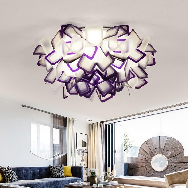 Modern LED lamp Ceiling lights indoor lamp ceiling lighting PVC living bedroom shop casting molding seal dustproof hardlights