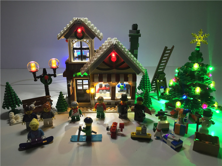 LED Light Up kit (only light kit included) for Lego 10249 CREATOR EXPERT WINTER TOY SHOP ...