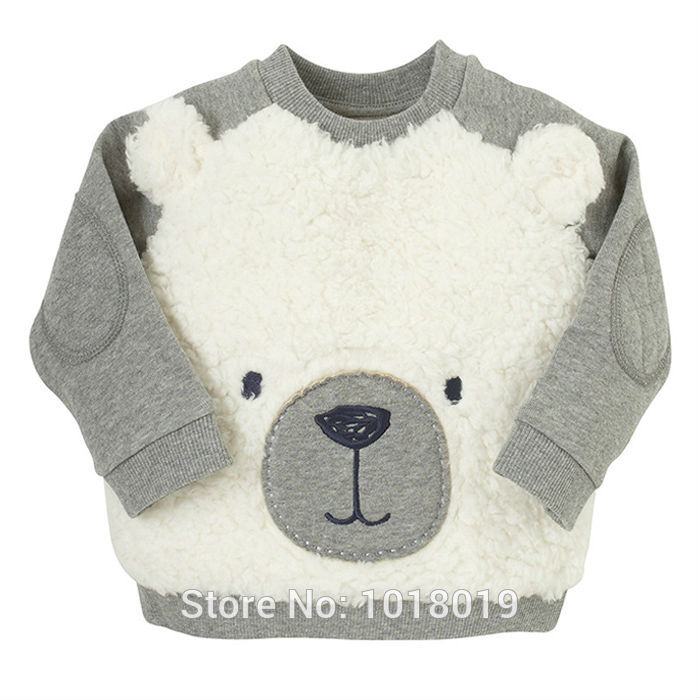 New 2017 Brand Quality 100% Terry Cotton Sweater Shirt Baby Boys Clothes Children Clothing Kids t shirt Bebe Hoodies Blouse Boys