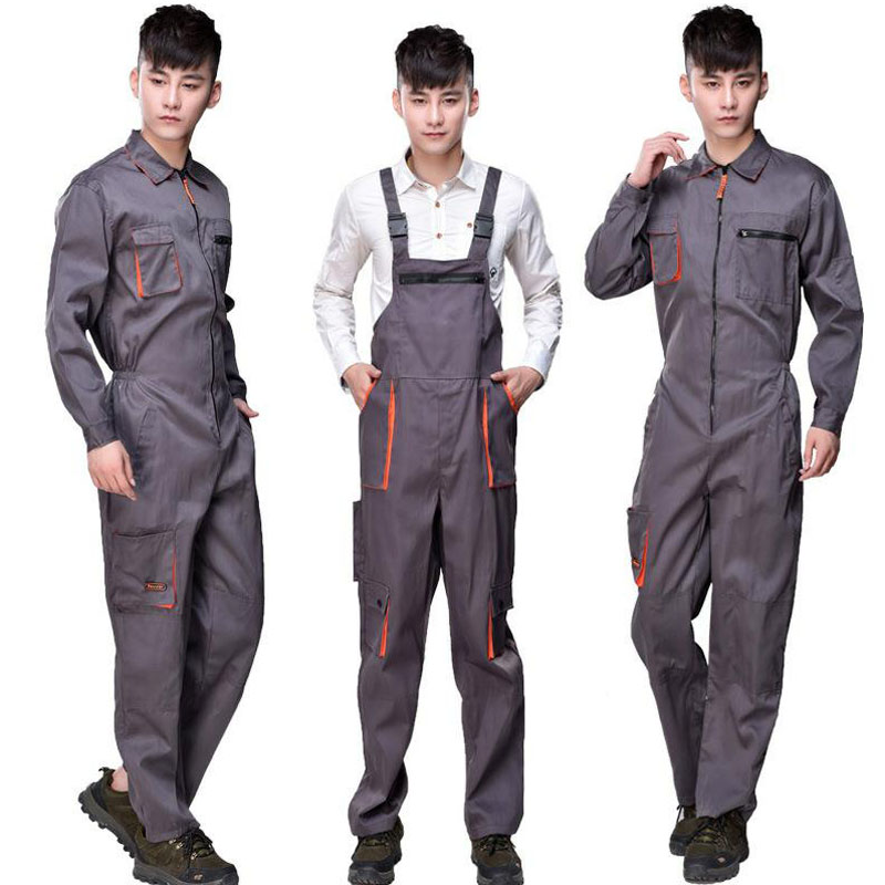 Strap Work Pant Multi-pocket Tool Work Safety Clothing Suits Auto Repair Labor Insurance Repairman Sleeveless Coveralls DYF001