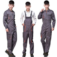 Strap Work Pant Multi pocket Tool Work Safety Clothing Suits Auto Repair Labor Insurance Repairman Sleeveless Coveralls DYF001