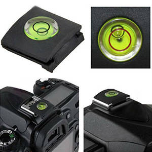 Camera Accessories for Nikon Flash Shoe Protective Cover Cap With Bubble Spirit Level