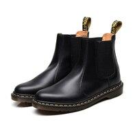men dr vulcanize shoes oxford motocycle boots men's winter 2976 shoes mens boots chelsea fashion shoes