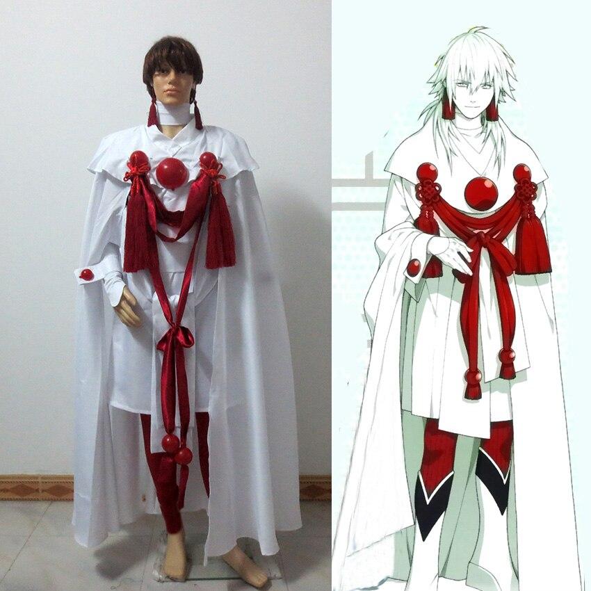 Dramatical Murder DMMD Seragaki Aoba Cosplay Costume Custom Made Free Shipping