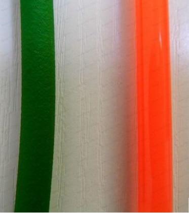 Один метр диаметр 3 мм зеленый красный шнур полиуретановый Круглый Синхронный Ременный привод конвейер ПУ зеленый грубой поверхности ремен...