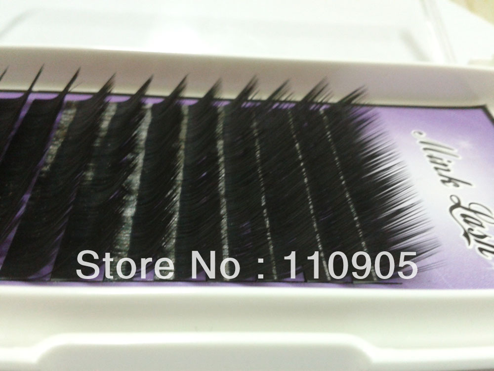 ФОТО pcsx L curl  Eyelashes Eyelash Extension Mink Eyelashes Free shipping