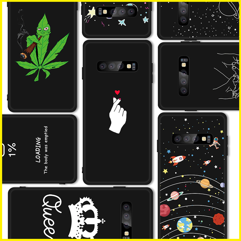 2019 Newest Pattern Case For Samsung Galaxy S10 Lite S9 S8 Plus A8S Note 9 8 Capa For Samaung Galaxy S10 Plus Note 9 8 Coque