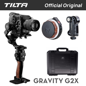Image 3 - الأصلي تيلتا الجاذبية G2X TILTAMAX المدمجة يده Gimbal نظام 3 محور DSLR استقرار لسوني كانون Mirrorless DSLR GH5 5D3