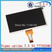 Original 7 Inch Digma Optima 7 5 3G TT7025MG 30pins LCD Display Matrix 1024 600 TFT