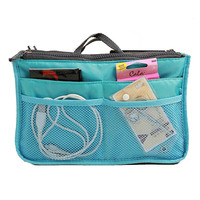 New Portable Make Up Organizer Bag Women Men Casual Travel Storage Bag Multi Function Cosmetic Handbags