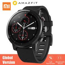Xiaomi Huami Amazfit 2 Amazfit Stratos tempo 2 smart watch mężczyźni z GPS Xiaomi zegarki PPG Monitor pracy serca 5ATM wodoodporna tanie tanio System operacyjny Android 4 gb Noctilucent Passometer Nastrój tracker Uśpienia tracker Kalendarz Wybierania połączeń