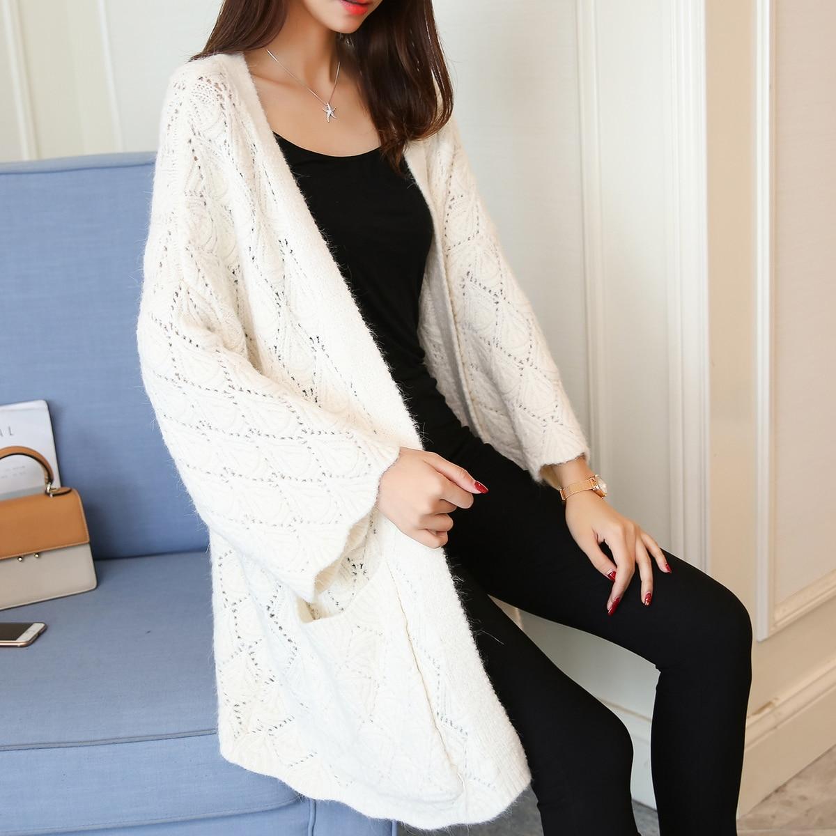 Femmes femmes Cardigan Hiver De see Yuancardigan 5288 New Chart See Manteau Coréenne Chandail Chart Fashionsweater 65 W1caBBf