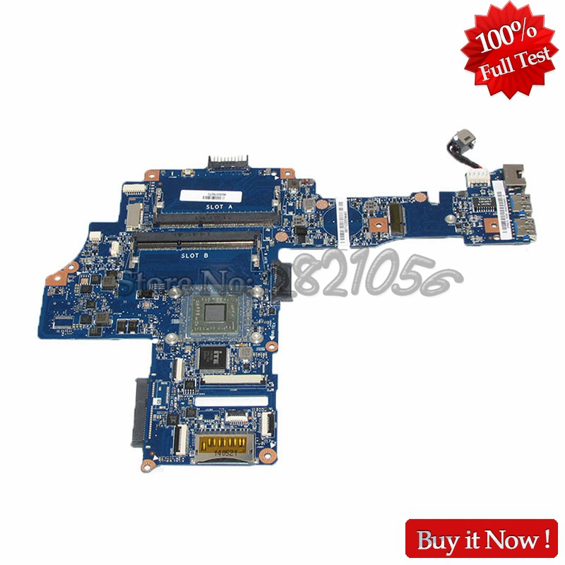 NOKOTION H000078270 PC Main Board For Toshiba Satellite C40-B CA10BM Laptop Motherboard AM6310 CPU DDR3 nokotion genuine h000064160 main board for toshiba satellite nb15 nb15t laptop motherboard n2810 cpu ddr3