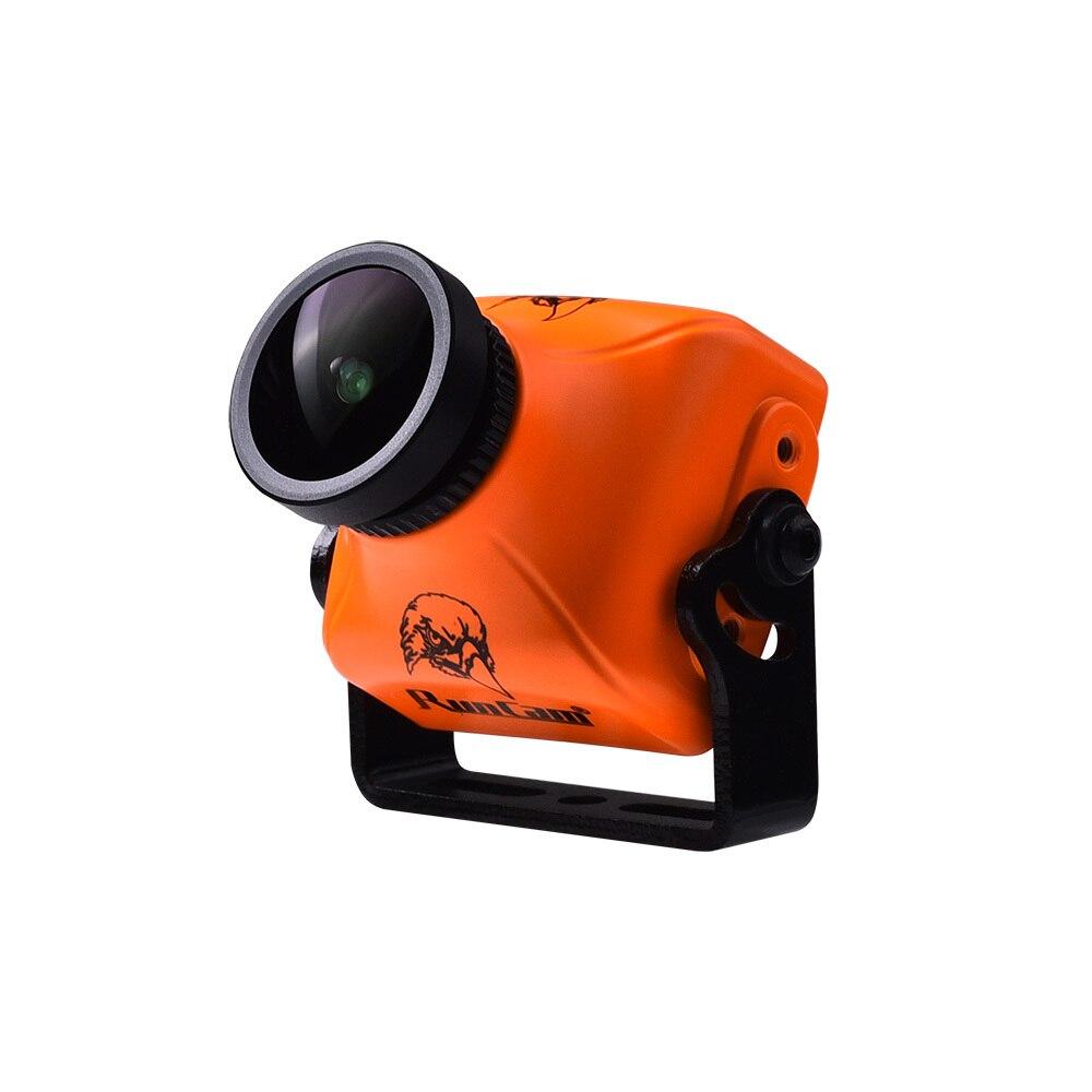 Oyuncaklar ve Hobi Ürünleri'ten Parçalar ve Aksesuarlar'de RunCam Gece Kartal 2 PRO 800TVL 140 F2.0 Mini FPV Kamera PAL NTSC Değiştirilebilir FOV 140 2.5mm Küresel WD drone için'da  Grup 1