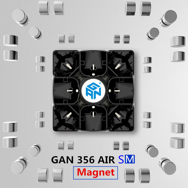 Gan 356 Air SM V2 Maître Casse-Tête Magnétique Magic Speed Cube 3x3x3 Professionnel Gans Cubo Magico gan356 Aimants Jouets