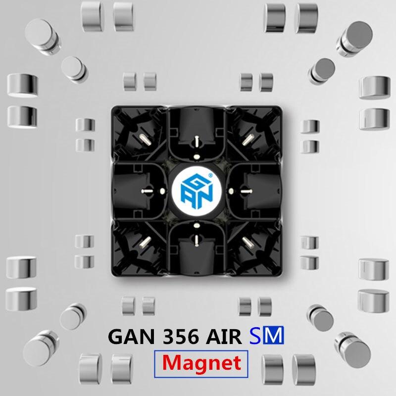 Gan 356 Air SM V2 Master Puzzle magnétique magique vitesse Cube 3x3x3 professionnel Gans Cubo Magico Gan356 aimants jouets