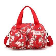 SOYT New 8 Color Fashion Women Handbag Printed Flowers Waterproof Nylon  Ladies Messenger Bag Tote Bolsas Brand Shoulder Bags 41876bc61042e