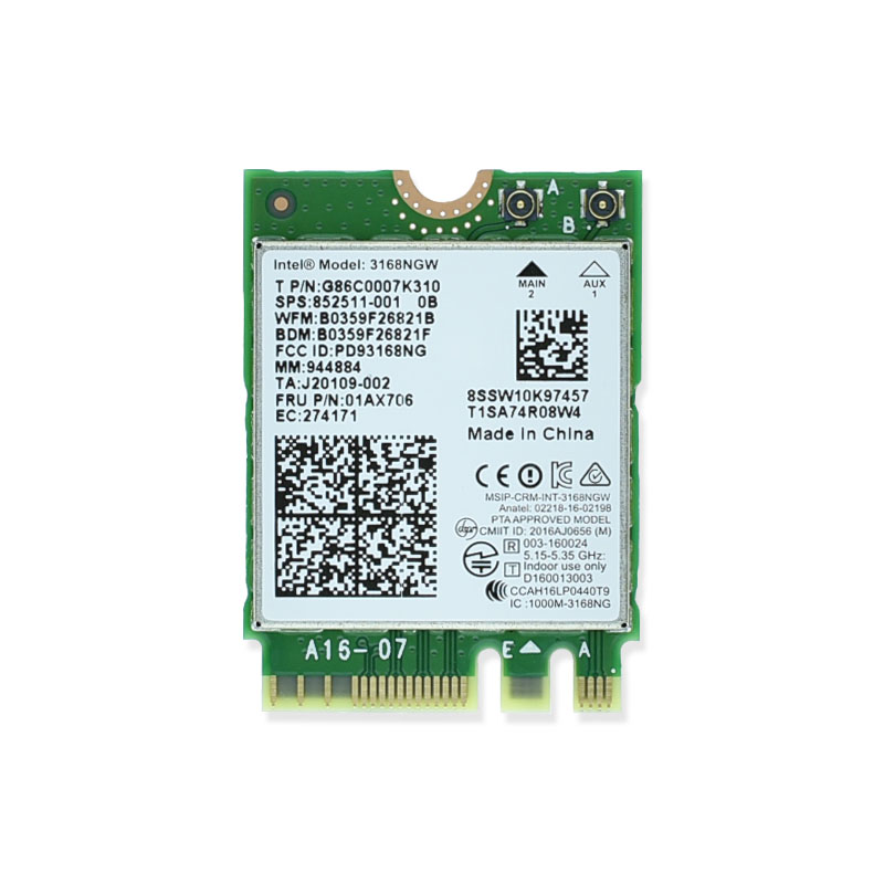brand new for intel 3168ngw dual band wireless ac 3168 3168 ac