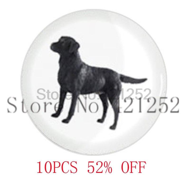 Черный Лабрадор собака LDS мормонов CTR подарок для Него ожерелье брелок закладки Запонки Серьги