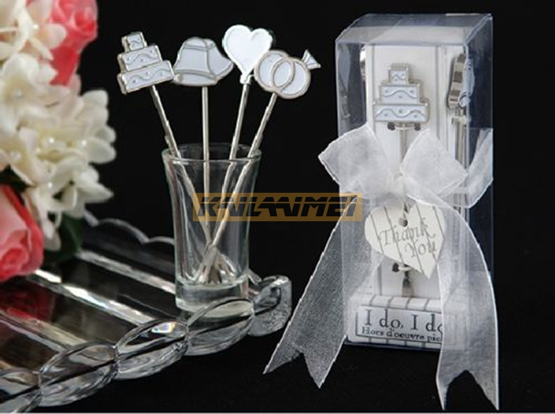 20set creative design wedding favors handmade mini fruit knife and fork wedding party game prizes valentines day gift