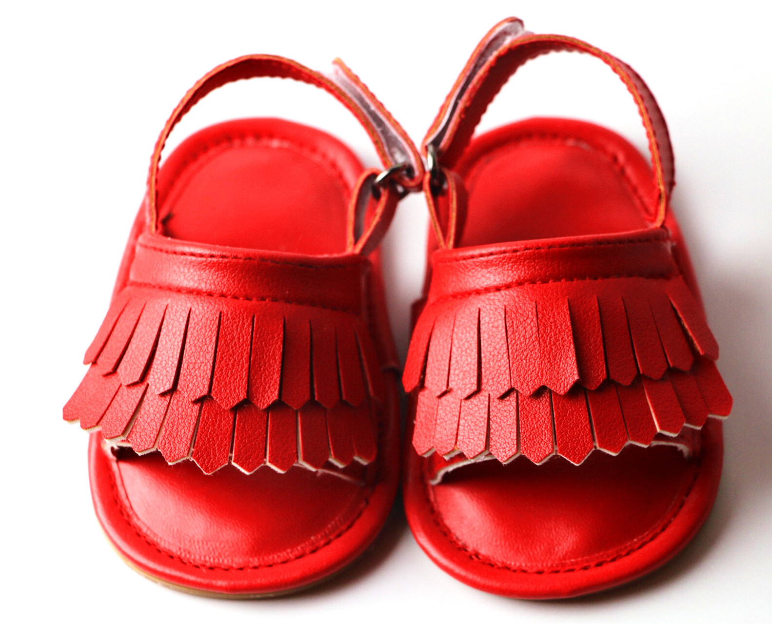 2018 Summer Childrens Shoes Manufacturers Selling New Tassel Baby Shoes Soft Baby Moccasins