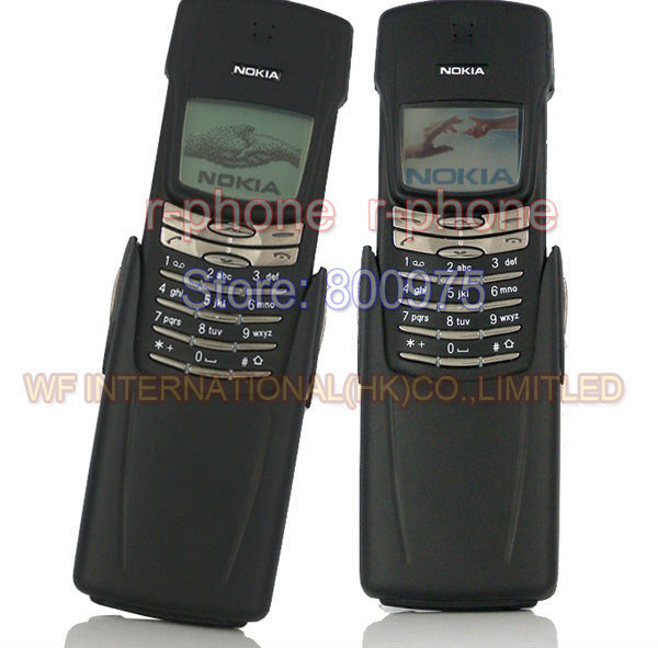 NOKIA 8910 Original Mobile-Phone GSM Refurbished Housing Russian-Keyboard Titanium 2G title=