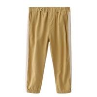 Las niñas de ocio pantalones 2018 bebé panty cintura apretada color cerrado Pantalones