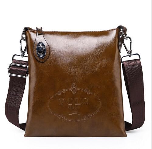 Hot Sale High Quality PU leather messenger bag fesyen lelaki beg bahu - Beg tangan