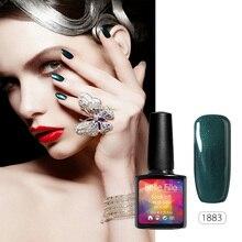 10ml Gel Nail Color Tale 237 Gel Color Gelpolish Nails UV Colors Glue Lamp Nailpolish Lemon Navy Turquoise Sea Grape Green Milky