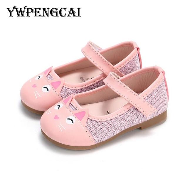 49d4a180ba9 Nuevo 2019 primavera niños zapatos fiesta niños zapatos para Niña talla  21-30 Todderl chica