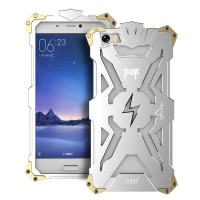 RedMi Pro Note 4 3 2 Simon THOR IRONMAN Shockproof Metal Back Cover Aluminium Frame Anti
