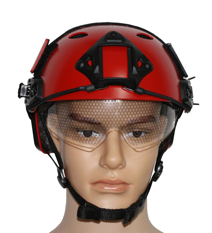 VILEAD 16 Colors JF- PJ FAST Helmet Military Tactical Helmet Version Helmet With Protective Goggles Tactical Helmet Airsoft vilead 16 colors jb mh standard fast helmet ops core airsoft tactical helmet for outdoor war game activities non porous